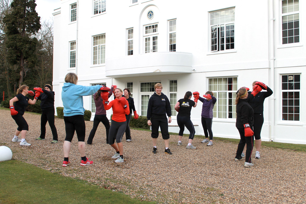 Boxing at the weekend with The Body Retreat