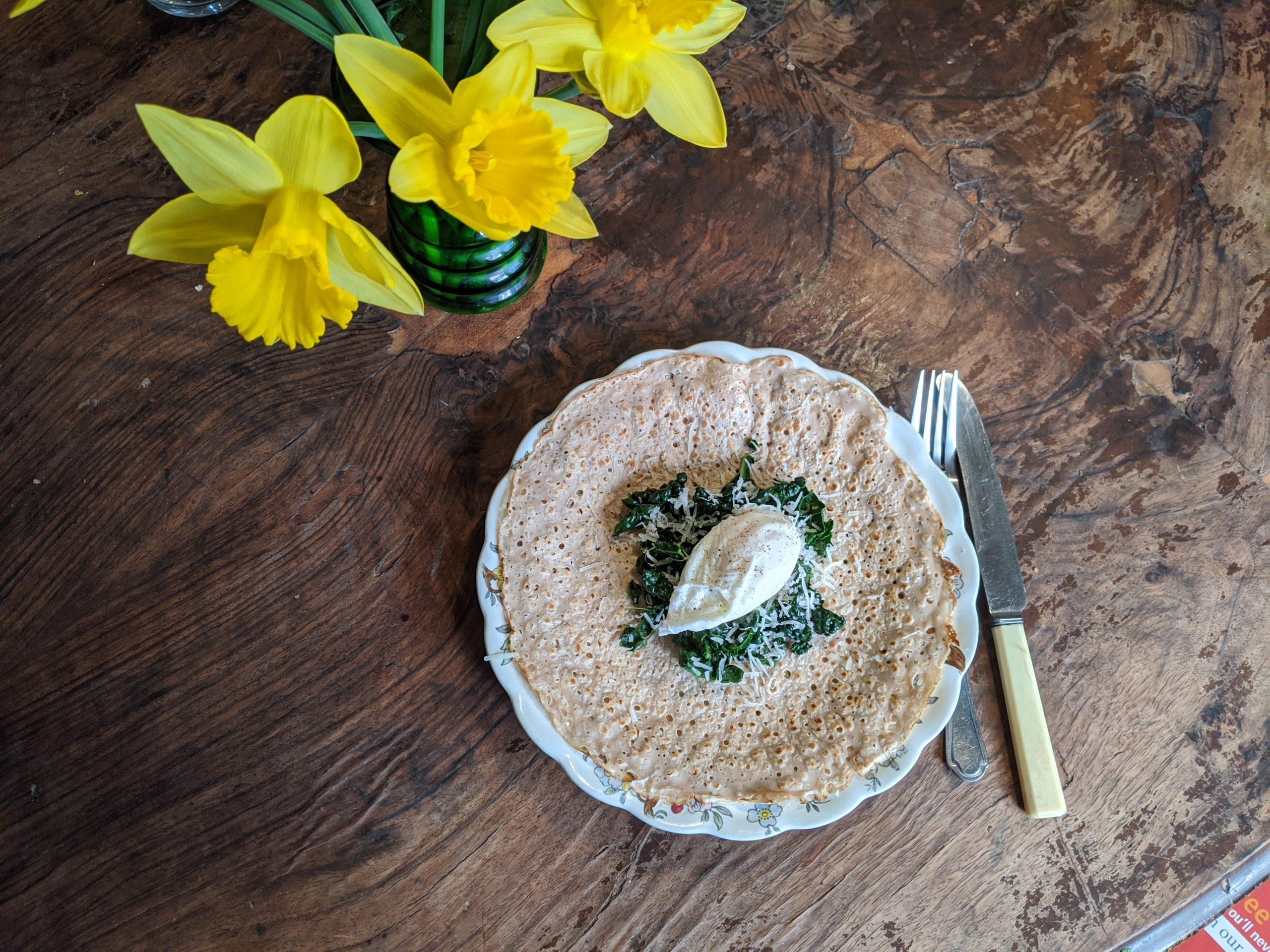 Savoury Buckwheat Pancakes The Body Retreat